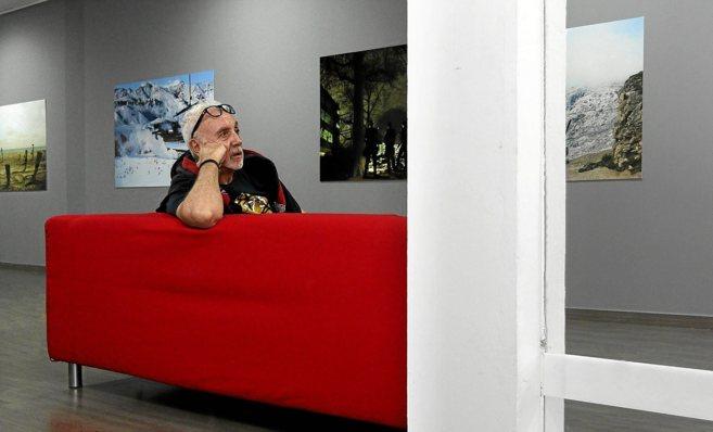 Pepe Calvo en L'Espai, donde se exhibirá su obra hasta el 12 de...