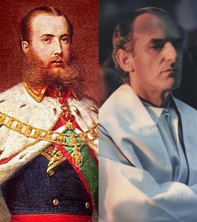 El emperador mexicano Maximiliano I y el sacerdote vasco asesinado en...