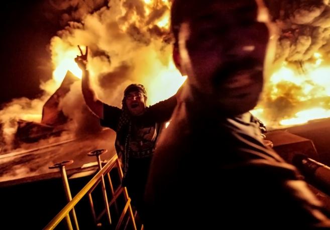 El puerto de Misrata. Un ataque de noche con cohetes