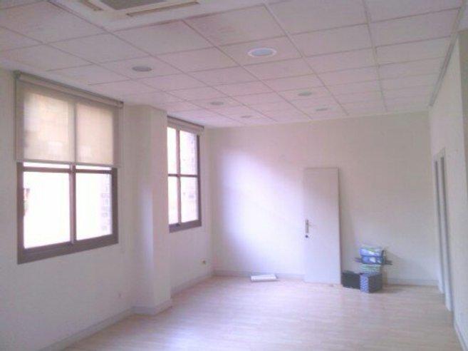 Imagen del despacho sin el espejo electrificado ni los muebles...