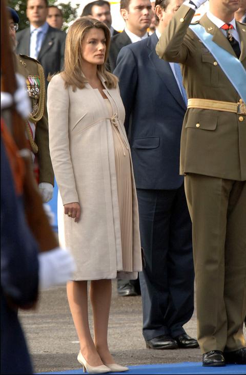 En 2005, y embarazada de la infanta Leonor, volvió a confiar en el...