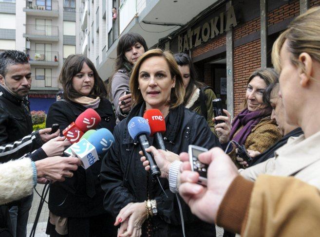 La presidenta del Bizkai Buru Batzar (BBB) del PNV, Itxaso Atutxa.