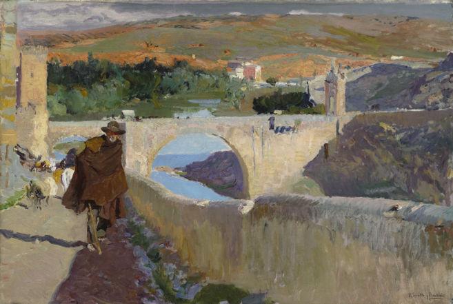 'El ciego de Toledo', de Joaquín Sorolla, en el Meadows...