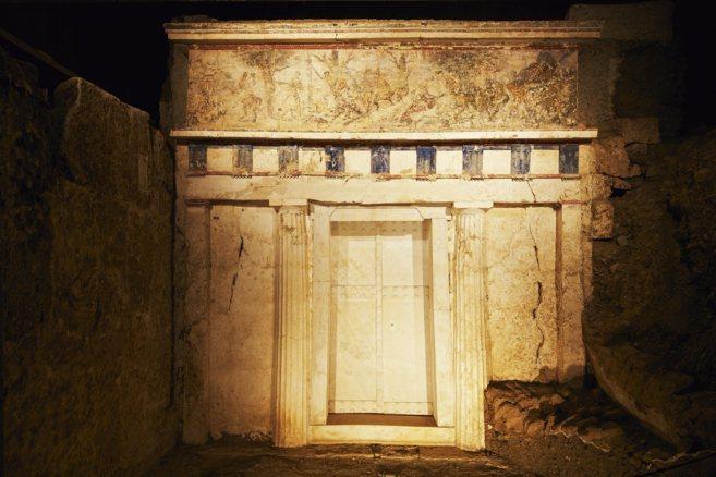 La tumba real de Filipo II
