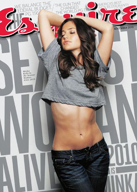 En 2010, la ganadora fue la actriz estadounidense Minka Kelly...