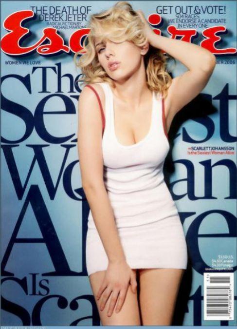 Scarlett Johansson es la única mujer de la lista que ha repetido...