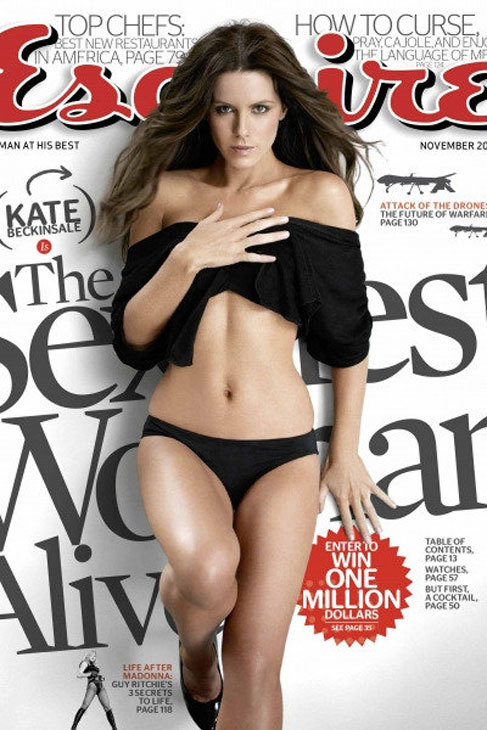 La actriz Kate Beckinsale -entonces con 36 años- fue la más sexy de...