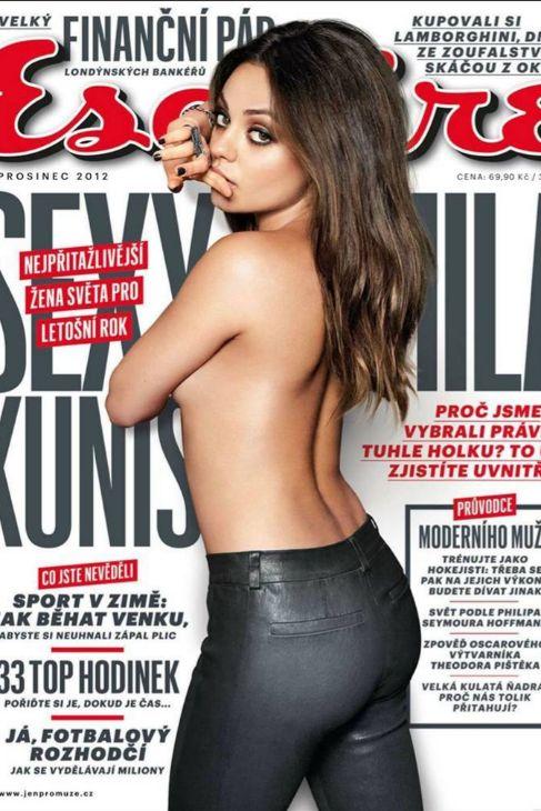 La actriz Mila Kunis fue la ganadora en 2012, entonces con 29 años,...