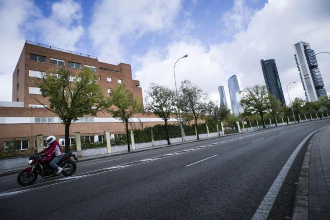 Vista exterior del Hospital Carlos III