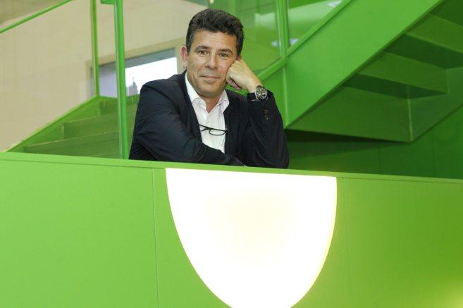 Jordi Martí Gascón, CEO de DBS Screening, posa en las instalaciones...