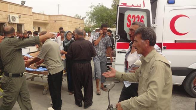 Hombres heridos en un atentado con coche bomba en Qara Qubah son...