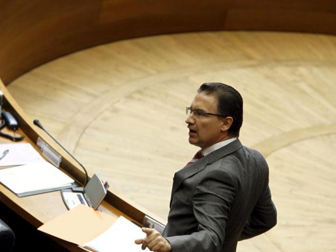 Serafín Castellano, delegado del Gobierno en la Comunidad Valenciana,...