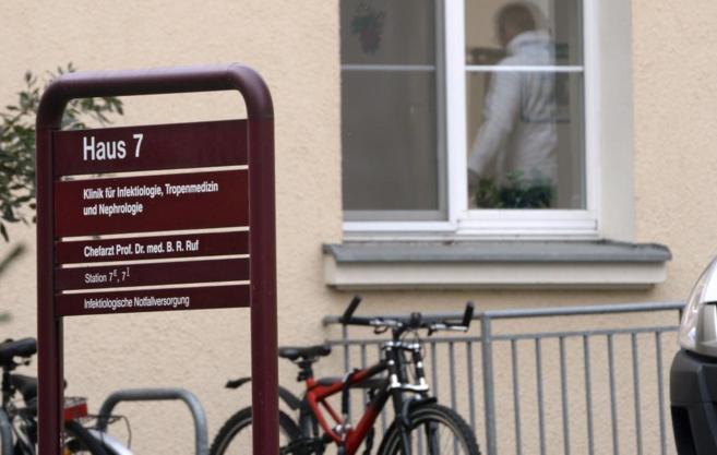 Vista de la clínica St.Georg de Leipzig