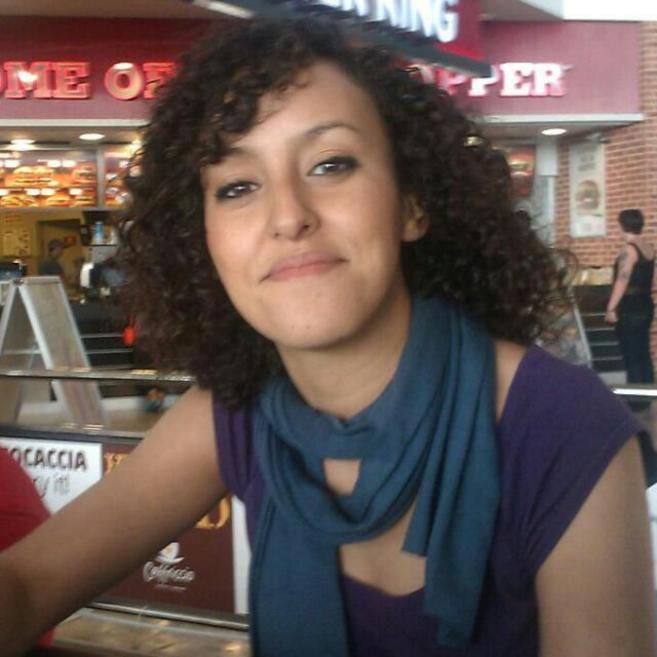 La joven española Mahyuba Mohamed Hamdidaf, de 23 años.