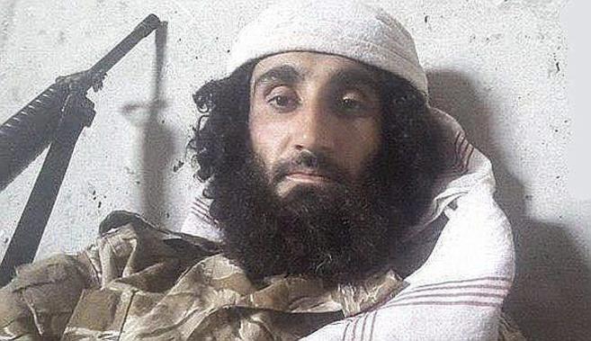 Abu Jatab al Kurdi, comandante del IS (Estado Islámico), en la...