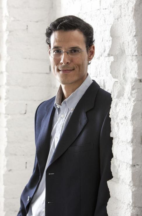 El escritor Marcos Chicot.