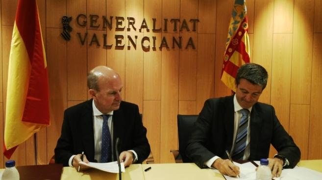 El conseller Máximo Buch, este martes en Castellón.