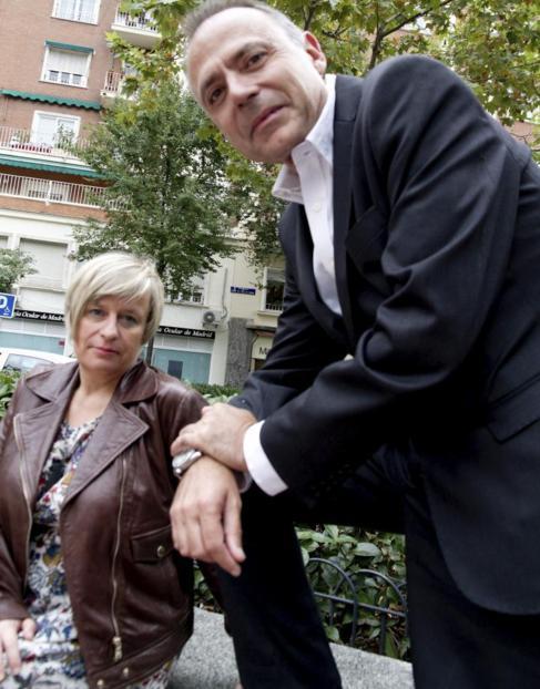 Los escritores Vicente Garrido y Nieves Abarca