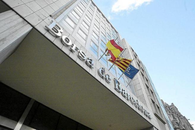 Edificio de la Bolsa de Barcelona en el paseo de Gràcia.