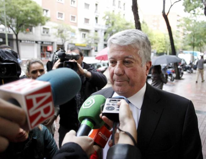 Arturo Fernández, presidente de la patronal madrileña CEIM, con...