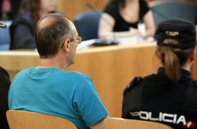 Juan Ramón Carasatorre Aldaz, durante un juicio en mayo de 2011.