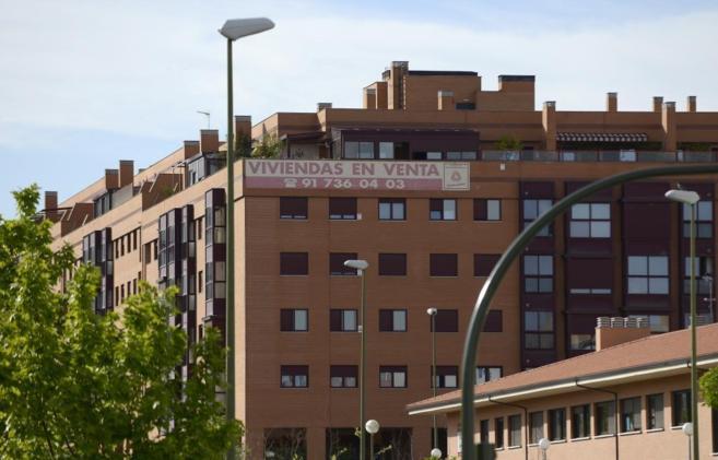 Pisos en venta en el barrio de Las Tablas en Madrid.