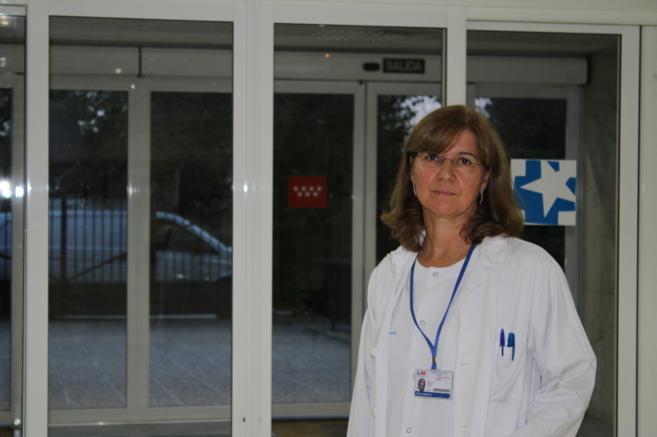 María Fe Bravo Ortiz, jefe de Psiquiatría de La Paz, está dando...