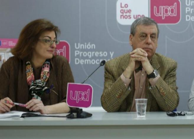 Francisco Sosa Wagner y Maite Pagazaurtundua, en una imagen del pasado...