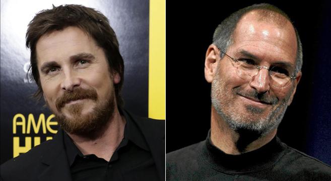 Christian Bale y Steve Jobs.