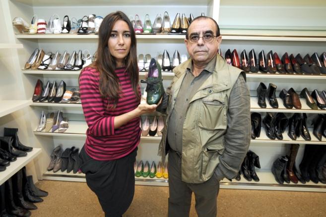 El empresario Jaime Mascaró con su hija Úrsula en una imagen de...