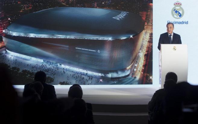 Florentino Pérez, presidente del Real Madrid CF, presentado el nuevo...