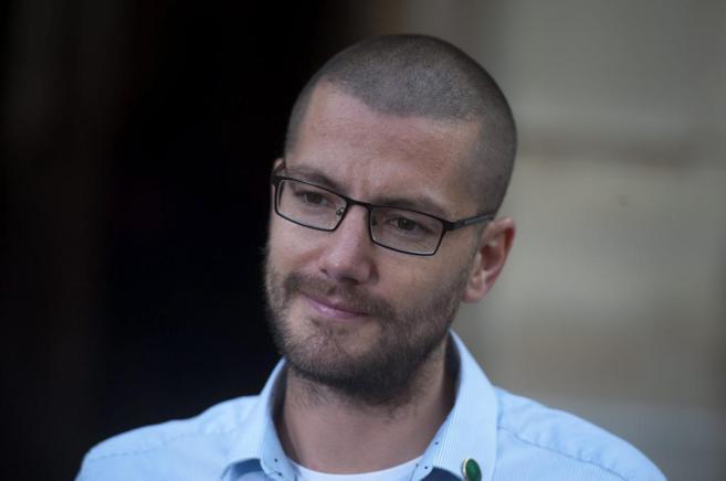 El enfermero británico William Pooley, recuperado de ébola en...