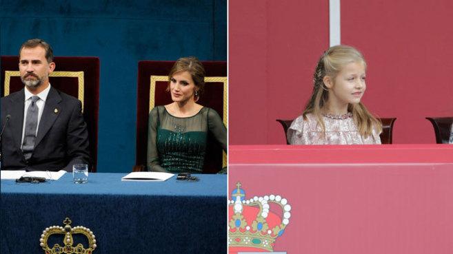 Los Reyes, en la pasada edición de los Premios Príncipes de...
