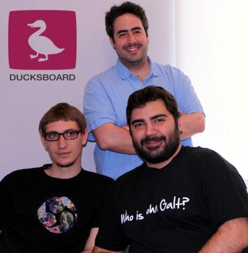 Los fundadores de Ducksboard.
