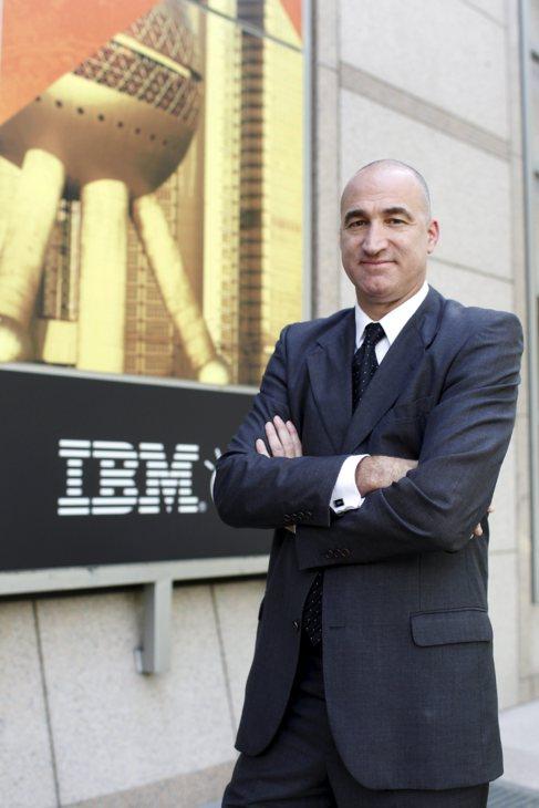Diego Segre, en la sede del IBM Client Center.