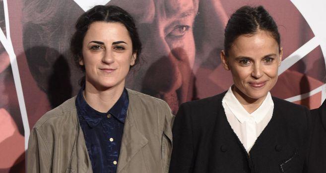 Beatriz Sanchís (izquierda) y Elena Anaya, en el estreno de este...