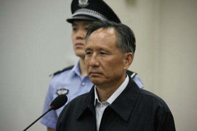Zhang Shuguang, durante el juicio.