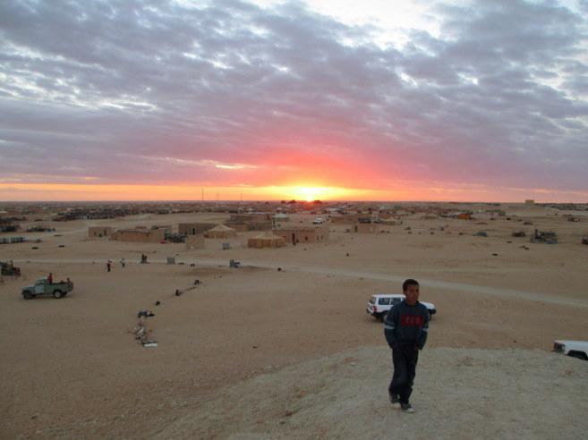 El campamento de refugiados de Smara, el más grande de los que...