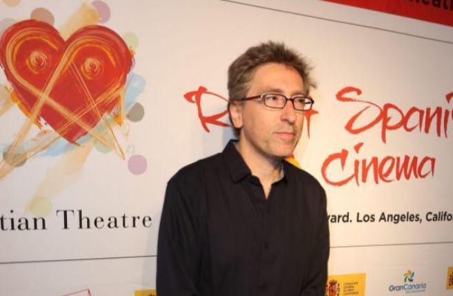 El director David Trueba en Los Ángeles.