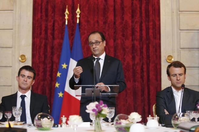 El presidente francés, François Hollande.