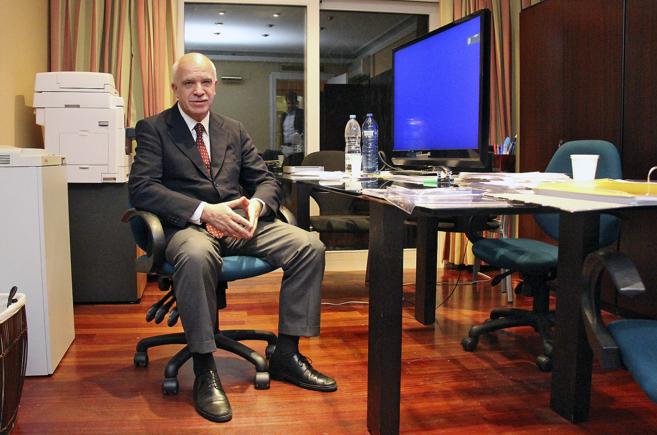 El ex banquero Eduardo Pascual, imputado en el 'caso ERE',...