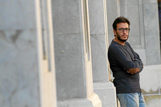 El profesor Pau Marimón, que denunció ante Inspección de Trabajo su...