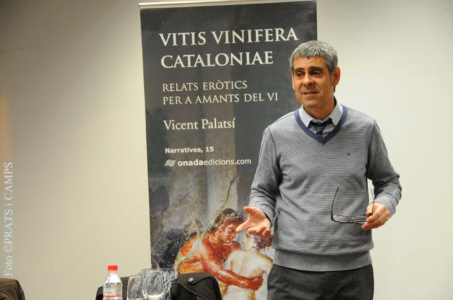 Vicent Palasí, autor del libro.