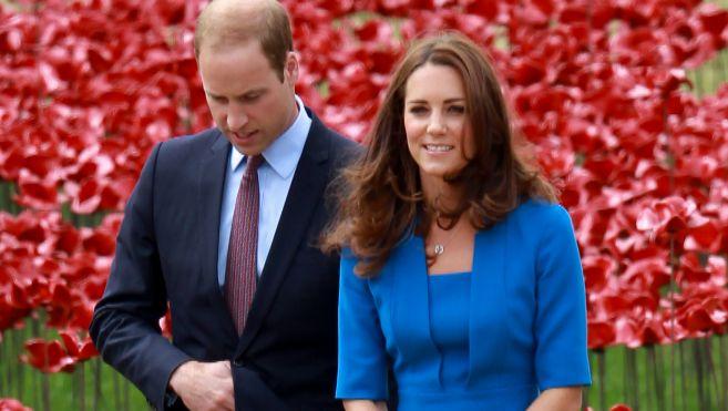 Los Duques de Cambridge, en su última aparición pública, el pasado...