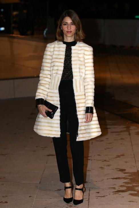 La actriz Sofia Coppola, gran amiga de la firma, tampoco quiso...