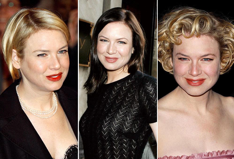 La actriz  también ha sido muy aficionada a los cambios capilares....