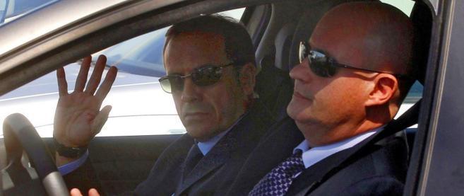 Enroqie Pamies y José María Ballesteros, en septiembre del año...