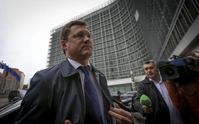 El ministro ruso de Energía, Alexander Novak, a su llegada a la...