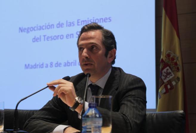 Íñigo Fernández Mesa durante una presentación de las emisiones del...