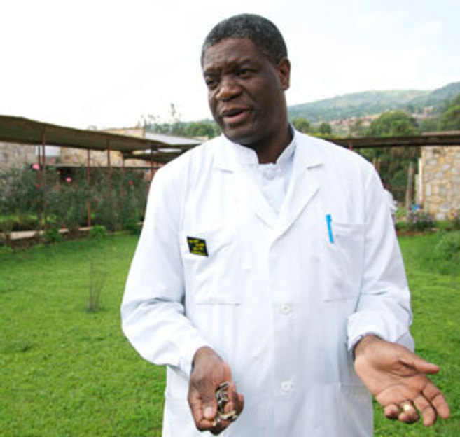 El dotor Denis Mukwege en el Hospital Panzi en la República...